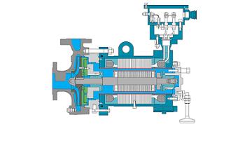 principe pompe rotor noye - api 685