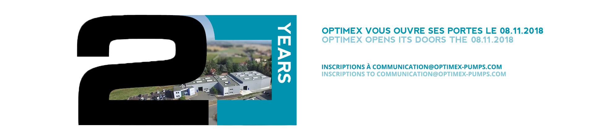 optimex slide portes ouvertes