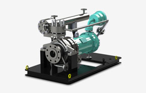 Industrial centrifugal pump manufacturer, prei canned motor pump range
