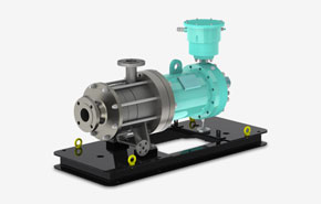 Manufacturer of industrial centrifugal pump Multi range, canned motor pumps